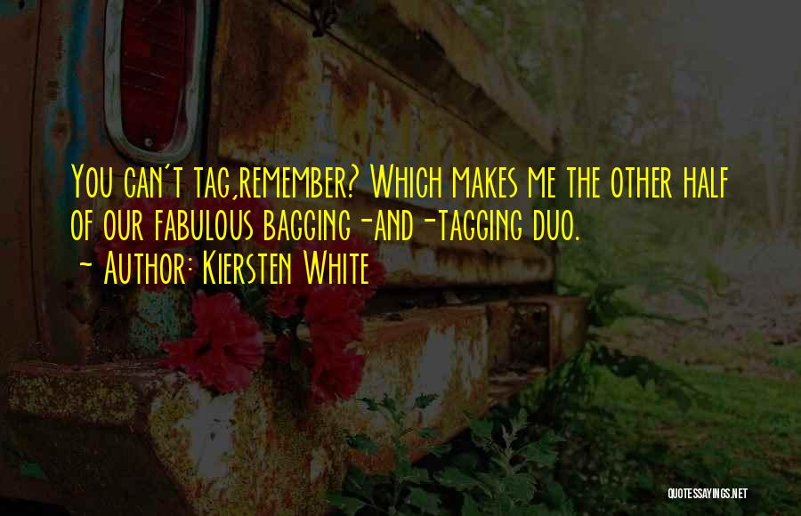 Other Half Of Me Quotes By Kiersten White