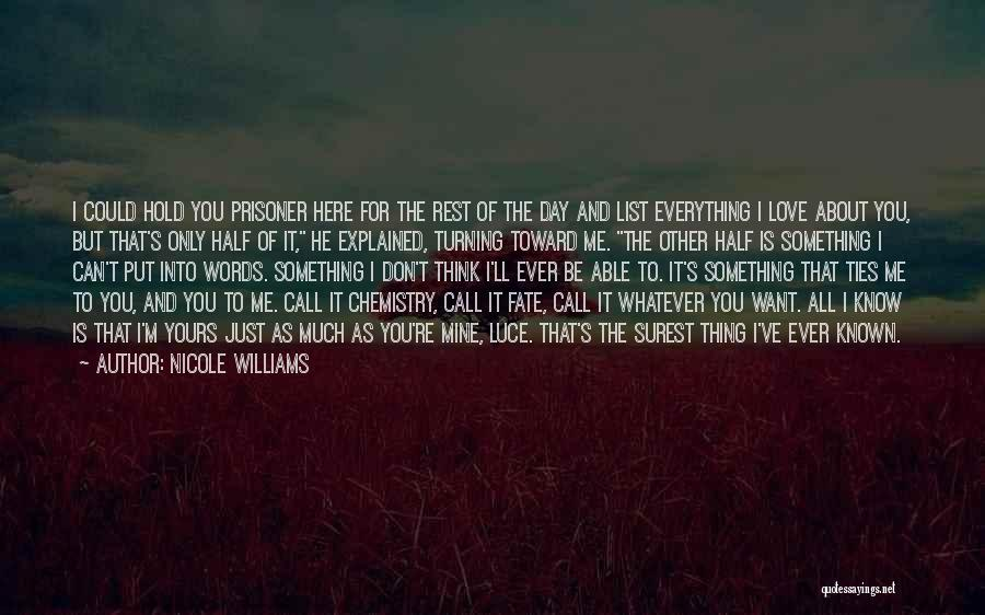 Other Half Of Me Quotes By Nicole Williams