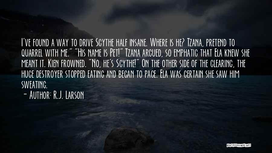 Other Half Of Me Quotes By R.J. Larson