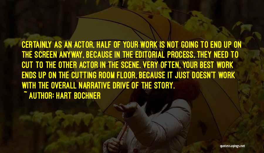 Other Half Quotes By Hart Bochner