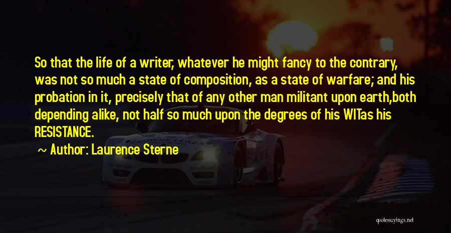 Other Half Quotes By Laurence Sterne