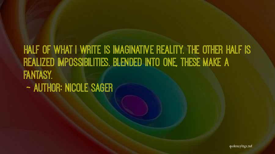 Other Half Quotes By Nicole Sager