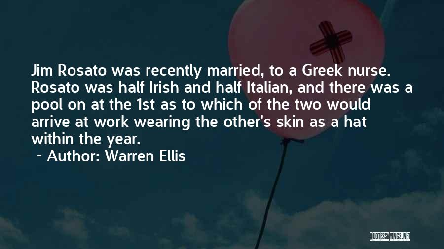 Other Half Quotes By Warren Ellis