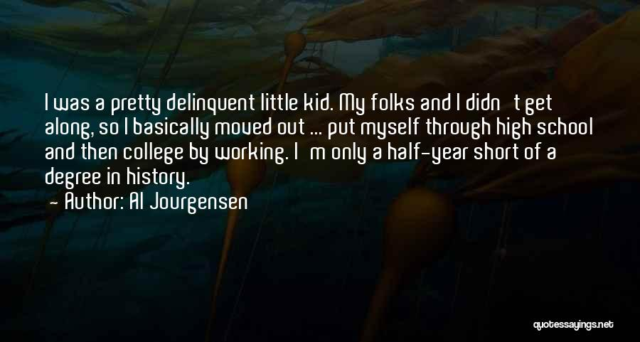 Other Half Short Quotes By Al Jourgensen