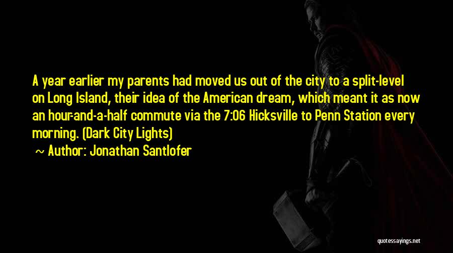 Other Half Short Quotes By Jonathan Santlofer