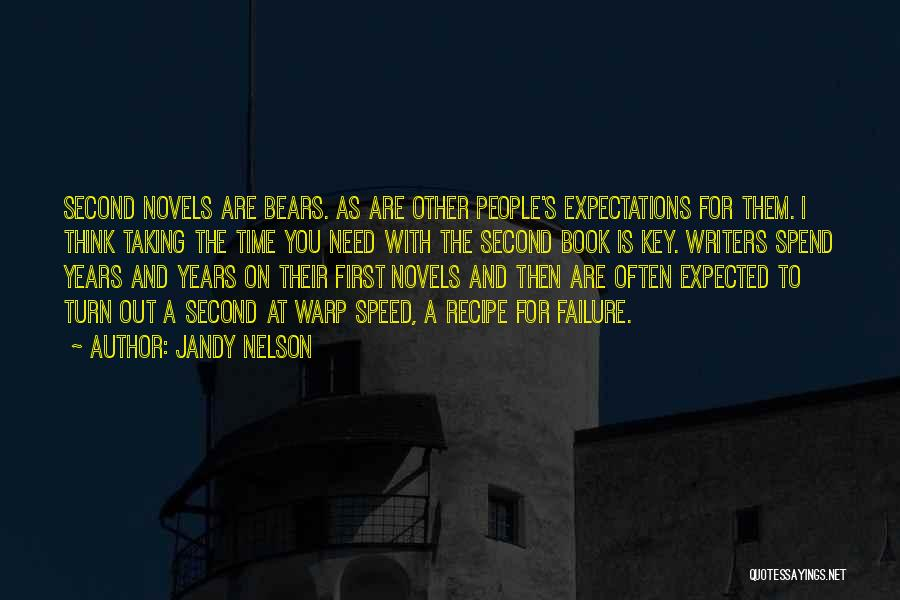 Other People's Expectations Quotes By Jandy Nelson