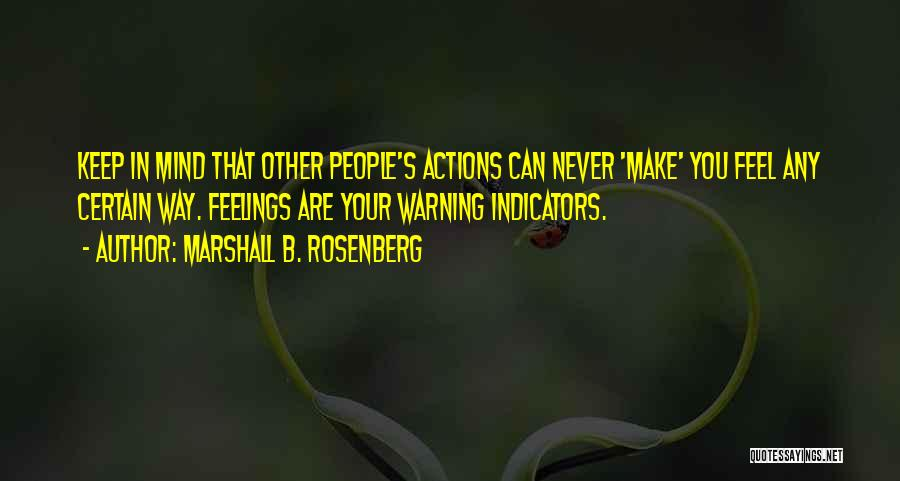 Other People's Feelings Quotes By Marshall B. Rosenberg