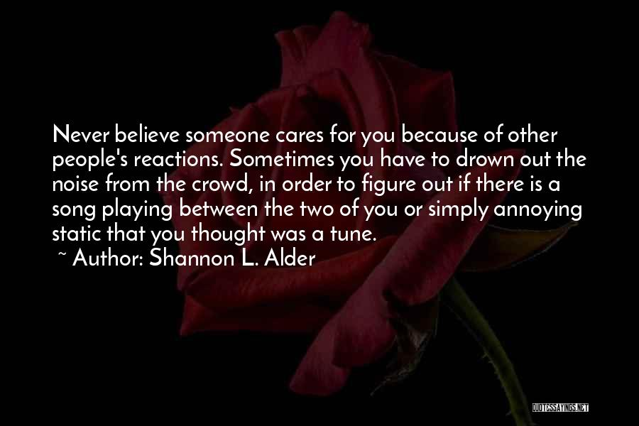 Other People's Feelings Quotes By Shannon L. Alder
