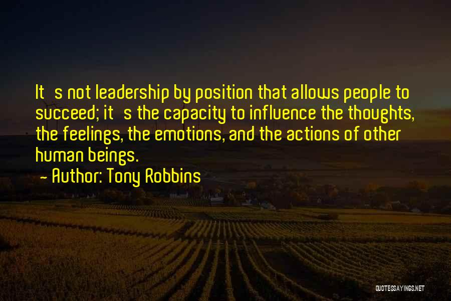 Other People's Feelings Quotes By Tony Robbins