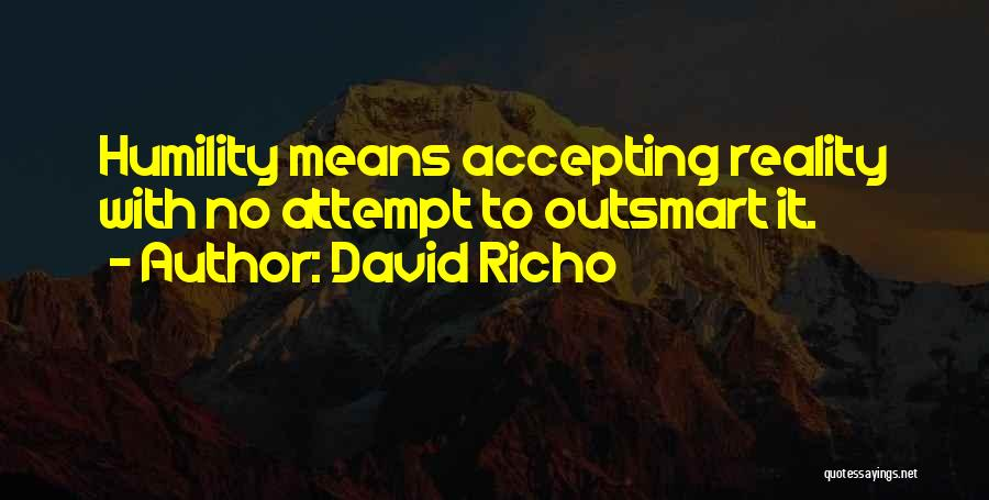 Others Not Accepting You Quotes By David Richo