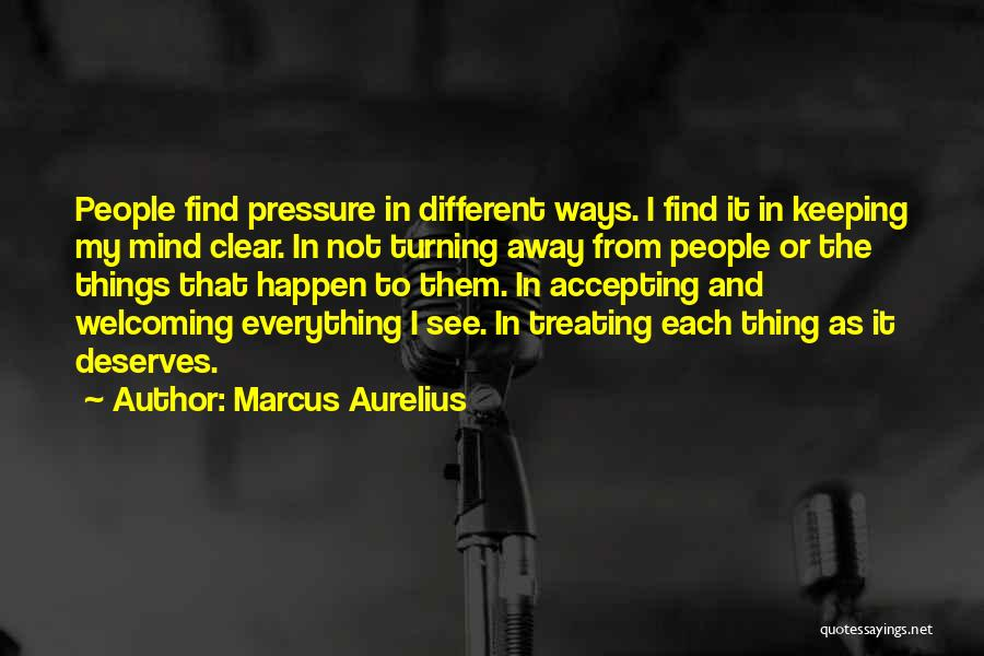 Others Not Accepting You Quotes By Marcus Aurelius