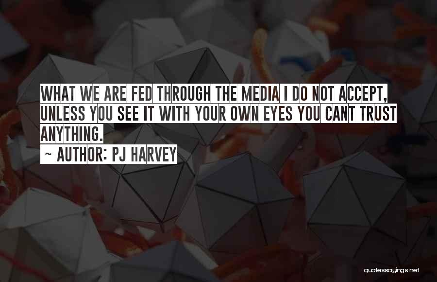 Others Not Accepting You Quotes By PJ Harvey