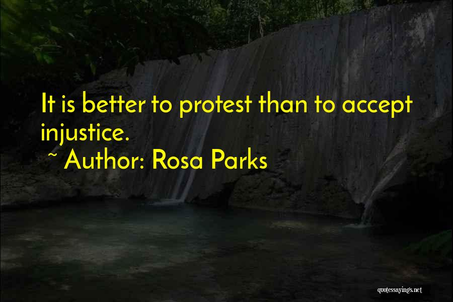 Others Not Accepting You Quotes By Rosa Parks