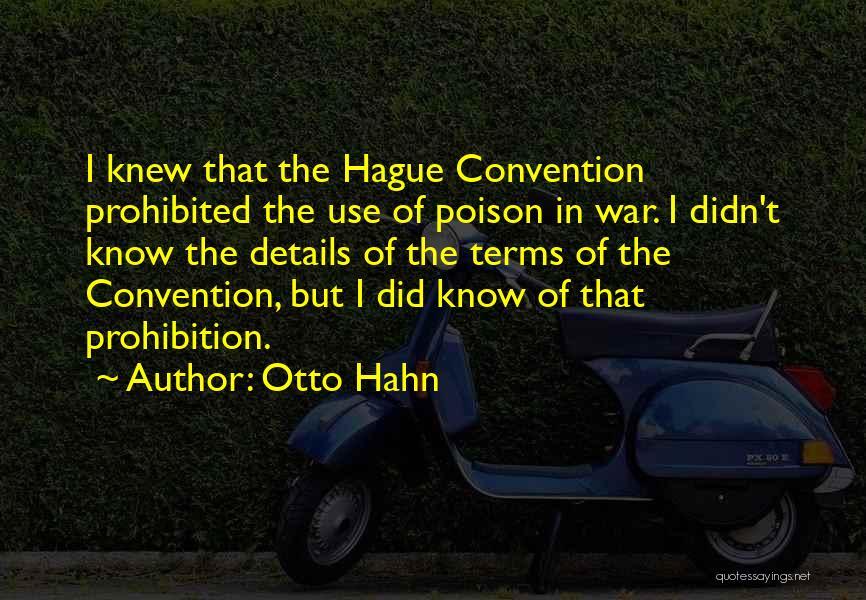 Otto Hahn Quotes 1709098