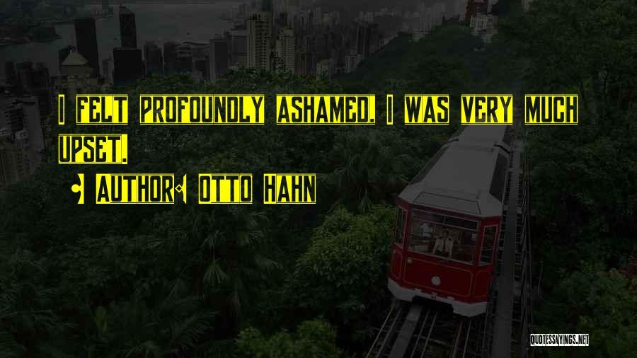 Otto Hahn Quotes 2090718