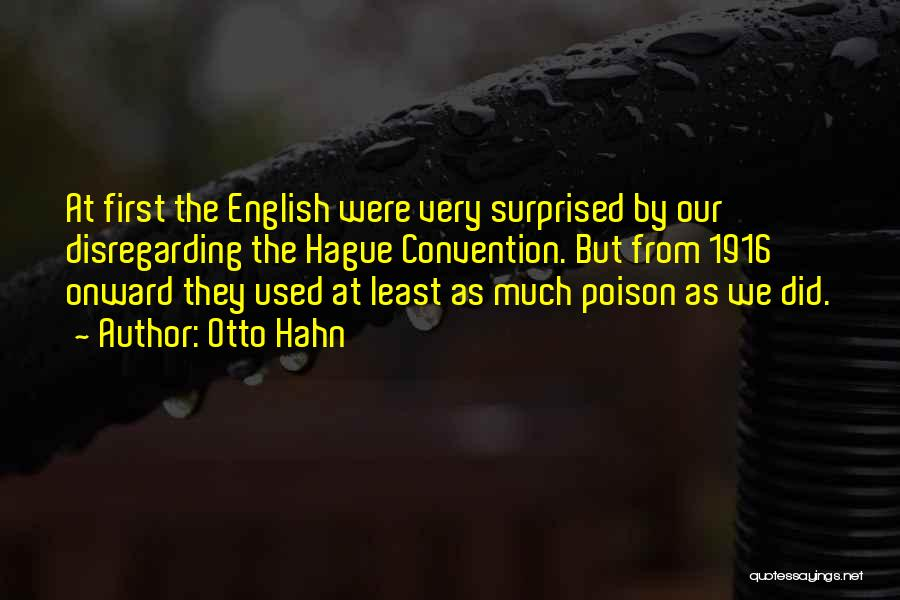 Otto Hahn Quotes 795786