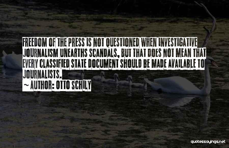 Otto Schily Quotes 1146504