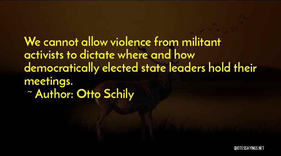 Otto Schily Quotes 1230529