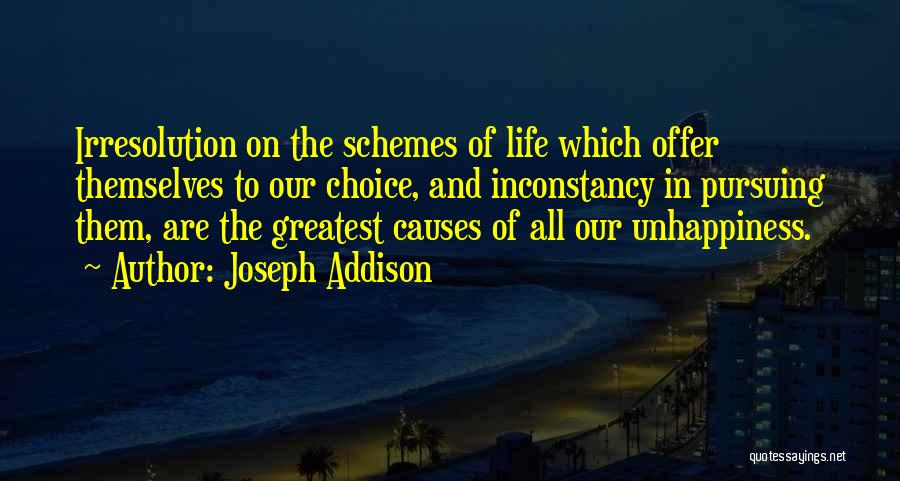 Our Choices In Life Quotes By Joseph Addison
