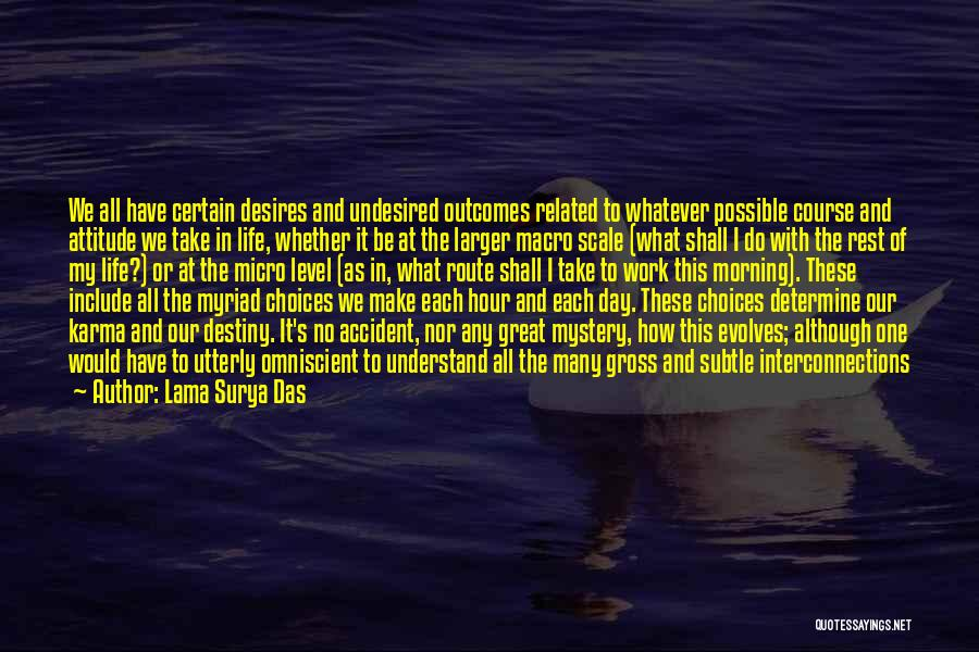 Our Choices In Life Quotes By Lama Surya Das