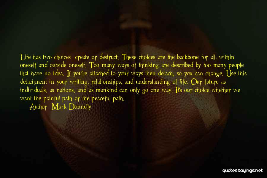 Our Choices In Life Quotes By Mark Donnelly