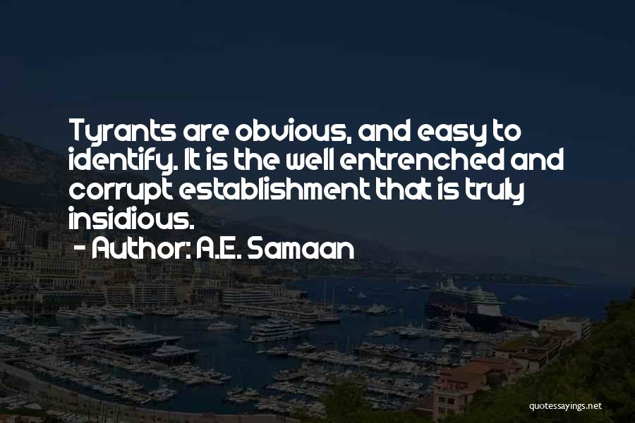Our Corrupt Government Quotes By A.E. Samaan