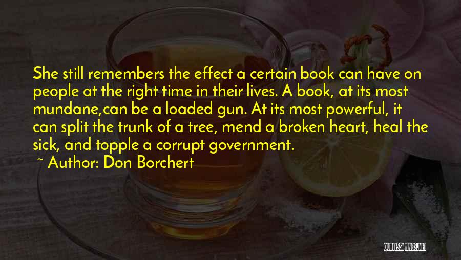 Our Corrupt Government Quotes By Don Borchert