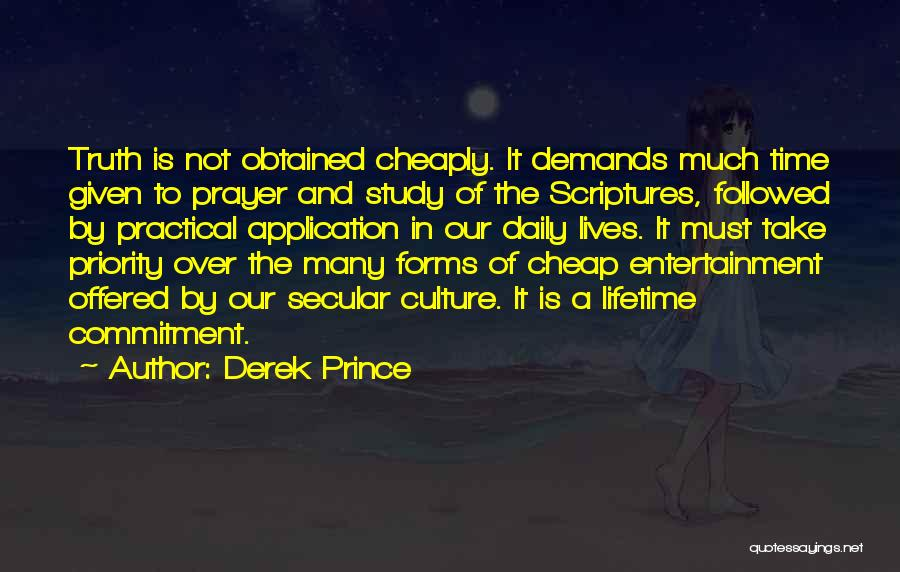 Our Daily Lives Quotes By Derek Prince