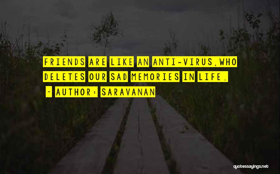 Our Friendship Like Quotes By Saravanan