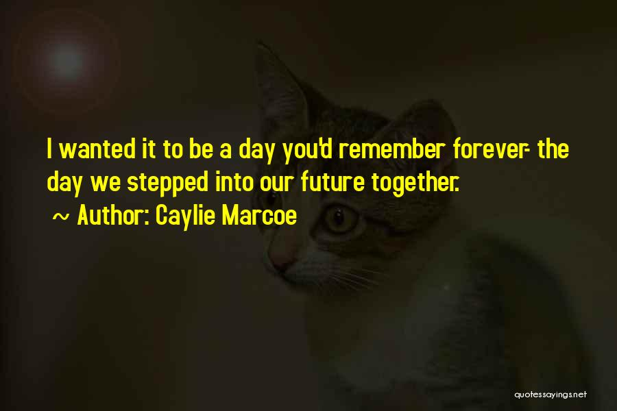 Our Future Together Quotes By Caylie Marcoe
