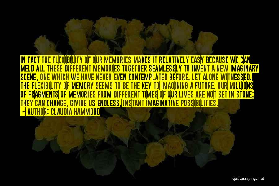 Our Future Together Quotes By Claudia Hammond