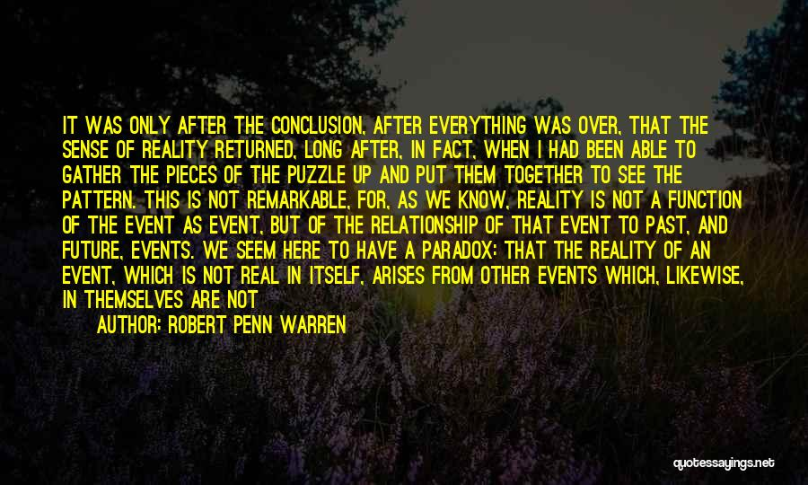 Our Future Together Quotes By Robert Penn Warren