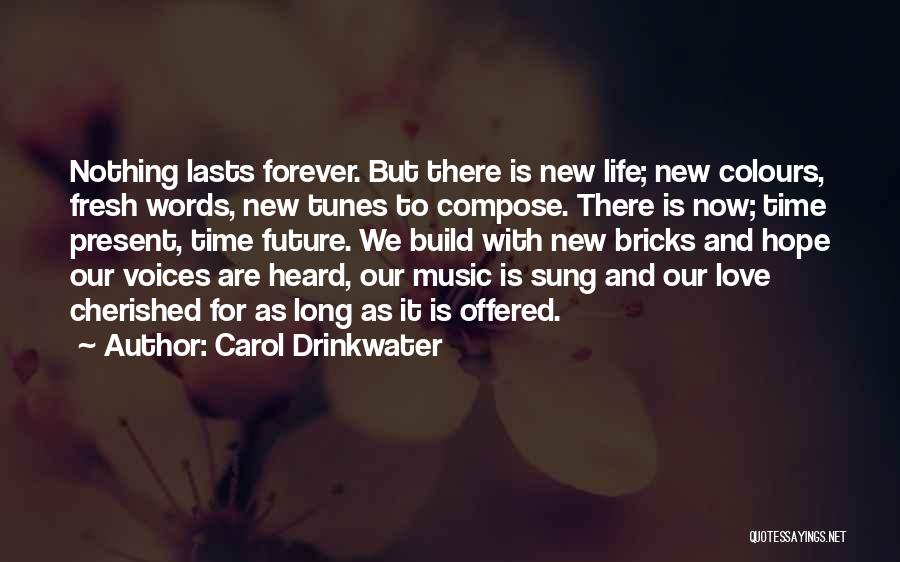 Our Love Is Forever Quotes By Carol Drinkwater