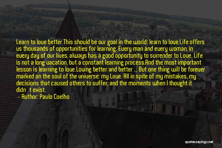 Our Love Is Forever Quotes By Paulo Coelho
