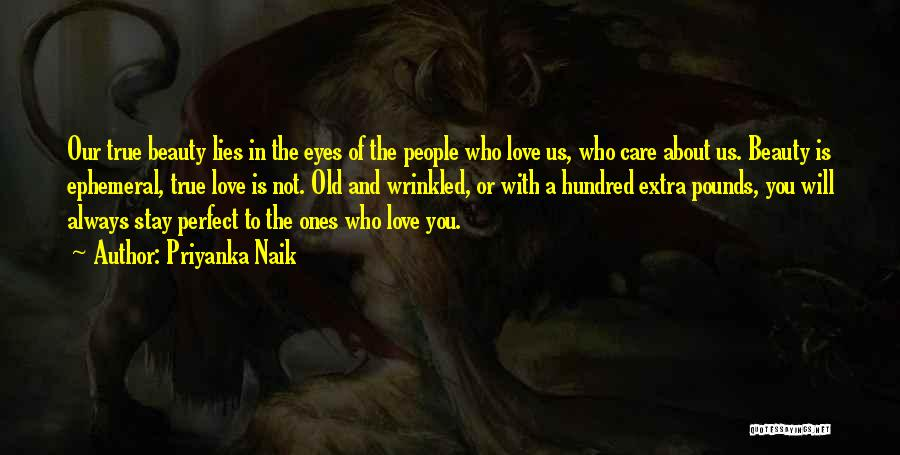 Our Love Is Not Perfect Quotes By Priyanka Naik