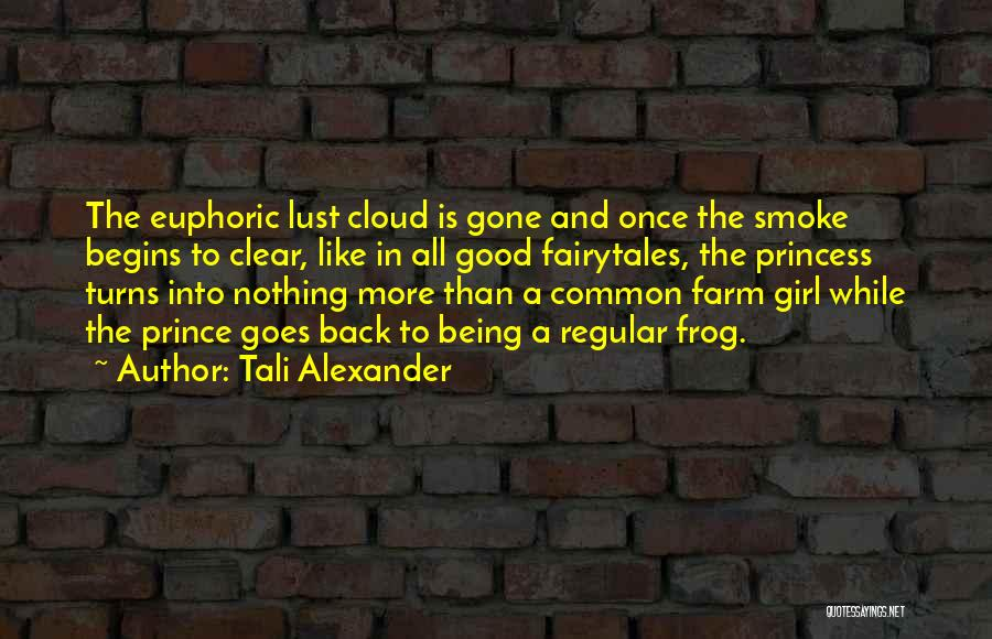 Our Love Story Begins Quotes By Tali Alexander