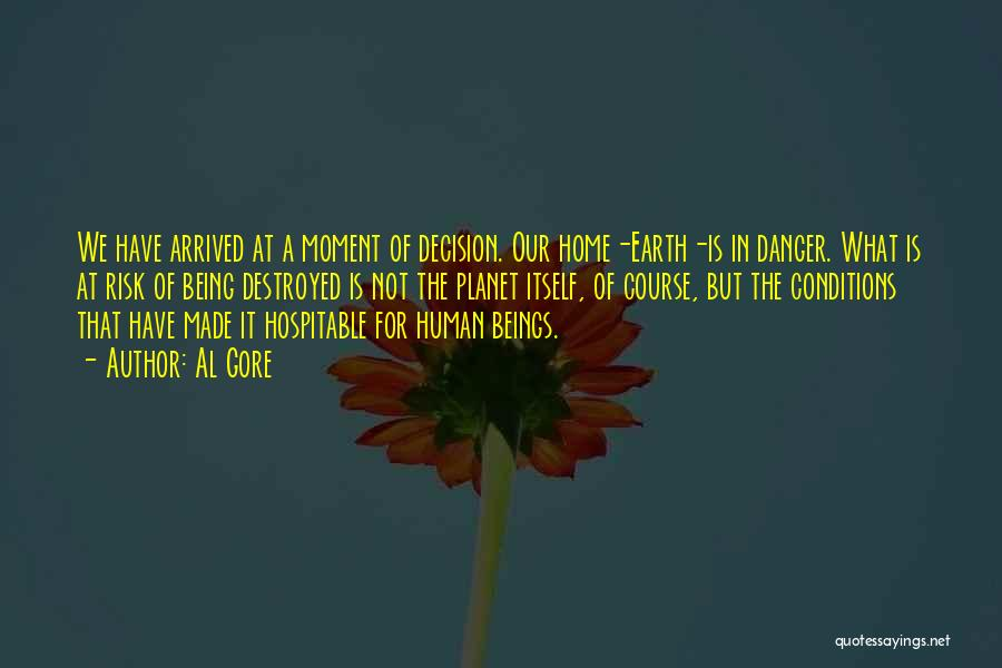 Our Planet Earth Quotes By Al Gore