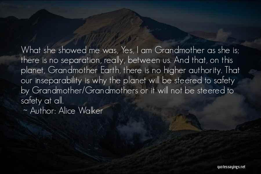 Our Planet Earth Quotes By Alice Walker