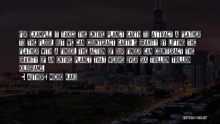 Our Planet Earth Quotes By Michio Kaku