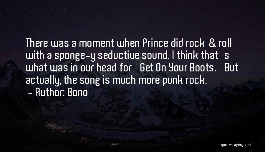 Our Song Quotes By Bono