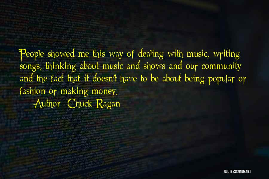 Our Song Quotes By Chuck Ragan