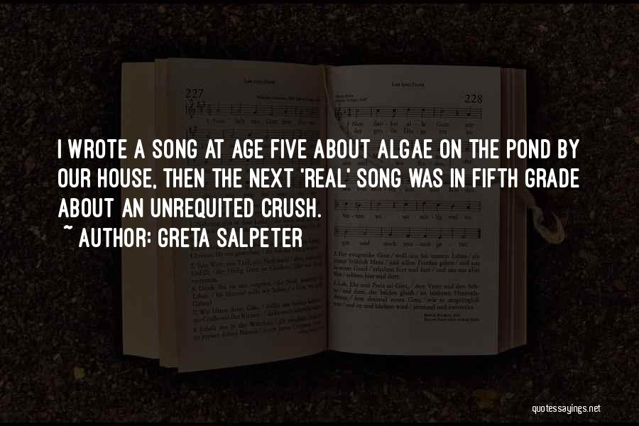 Our Song Quotes By Greta Salpeter