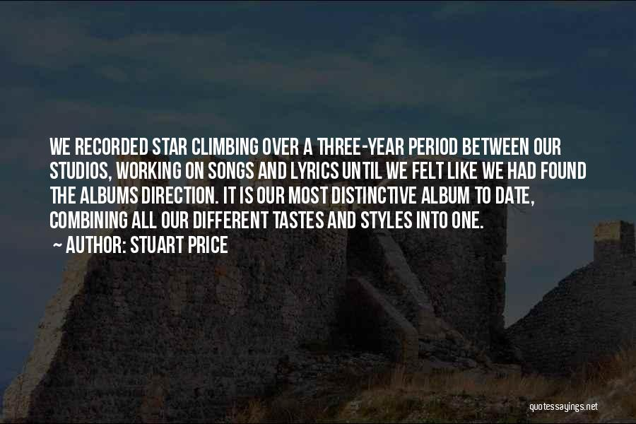 Our Song Quotes By Stuart Price