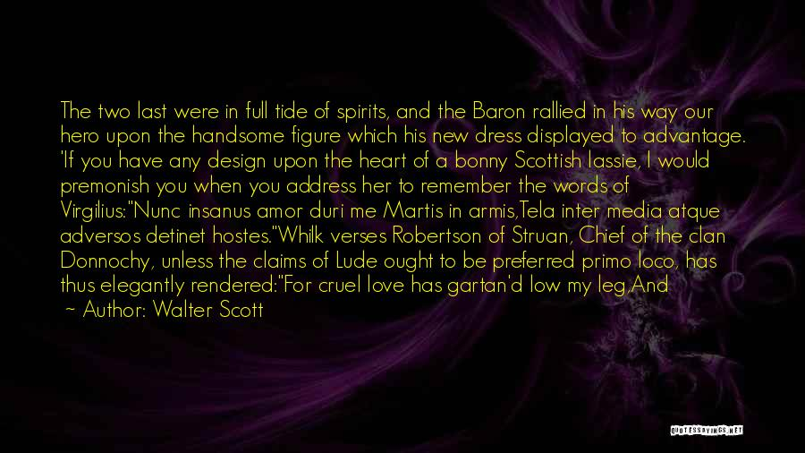 Our Song Quotes By Walter Scott