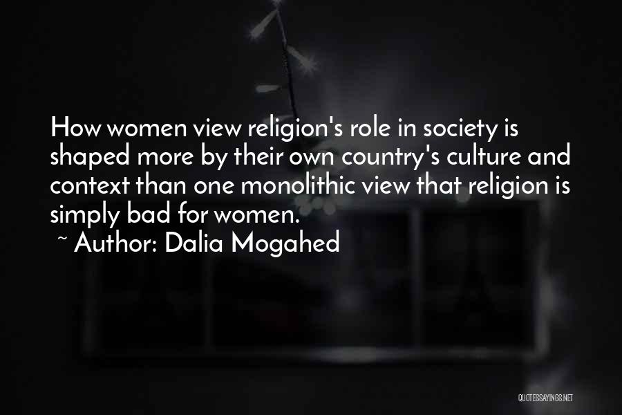 Out Of Context D&d Quotes By Dalia Mogahed