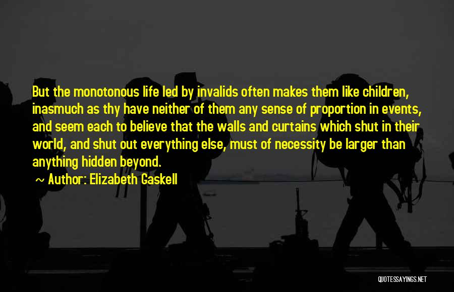 Out Of Necessity Quotes By Elizabeth Gaskell