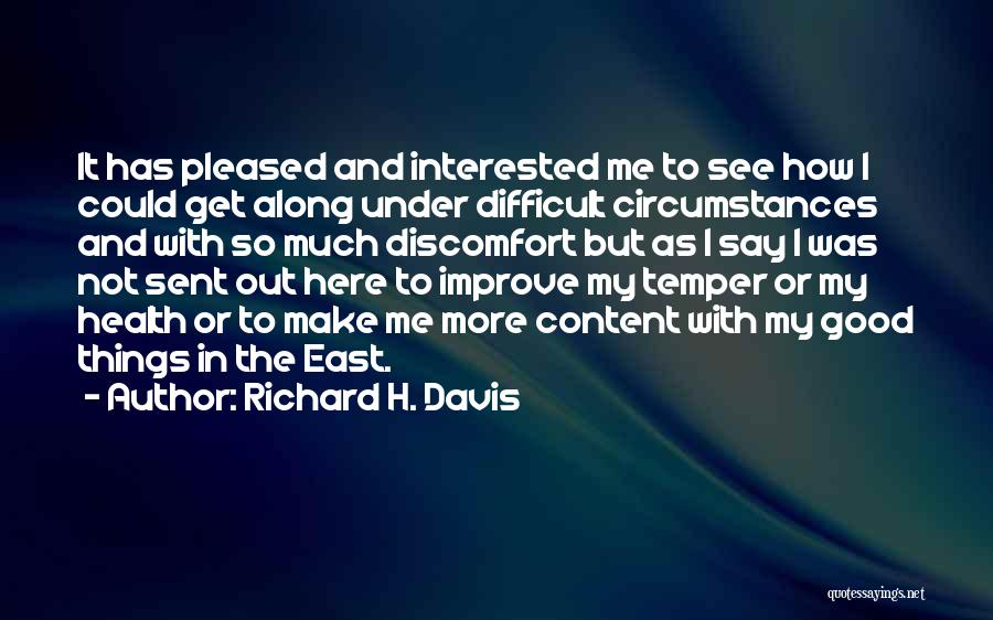 Out To Get Me Quotes By Richard H. Davis