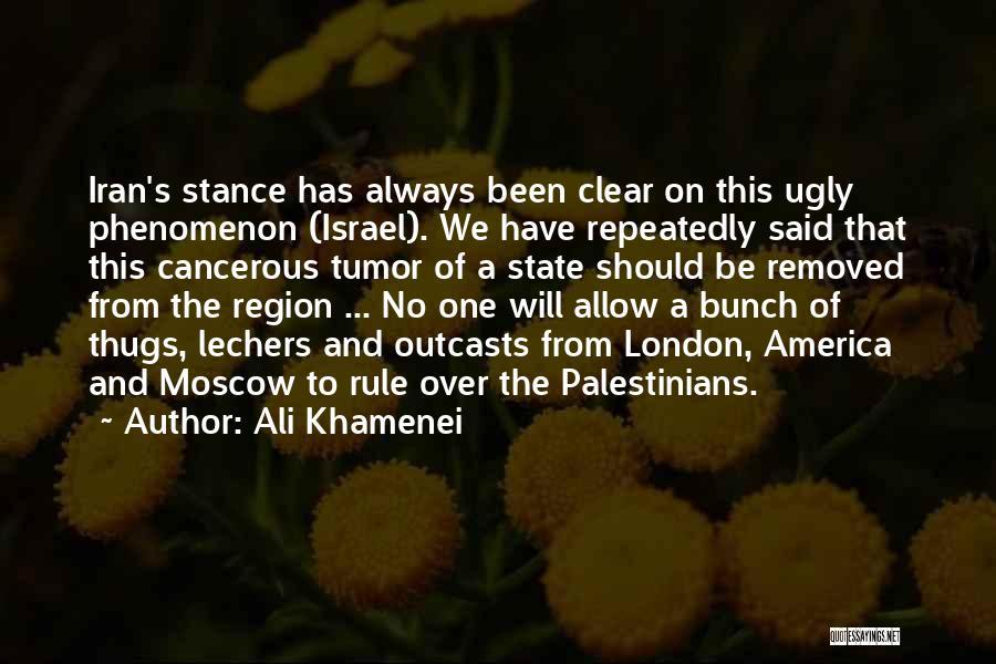 Outcasts Quotes By Ali Khamenei