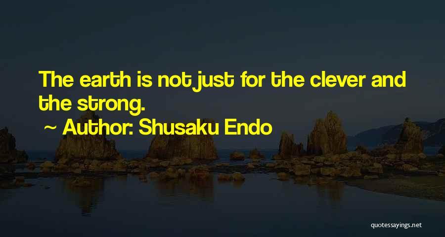Outcasts Quotes By Shusaku Endo