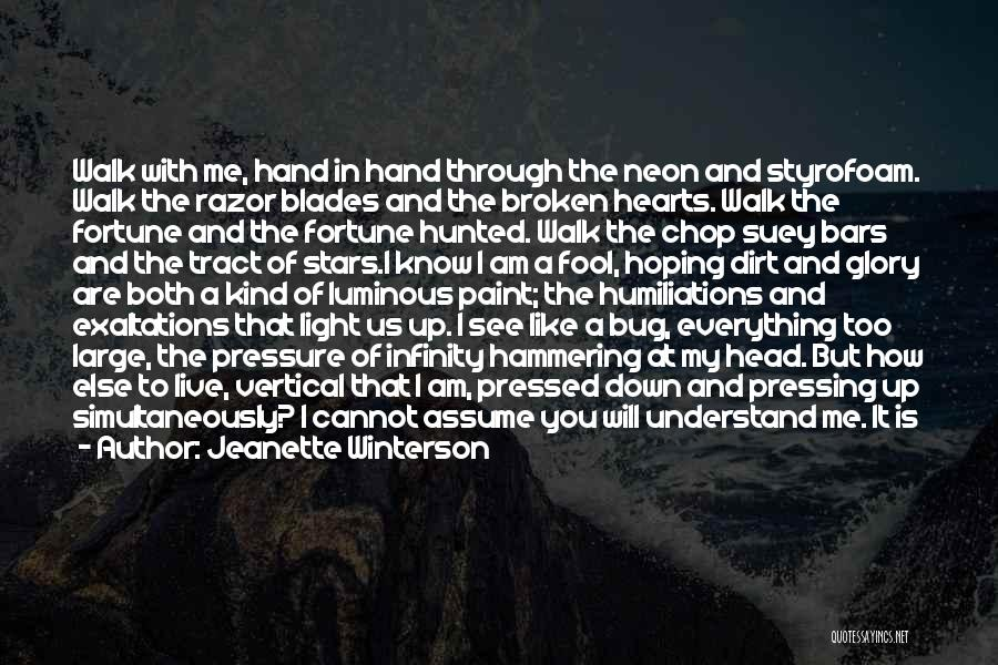 Outer Space And Love Quotes By Jeanette Winterson